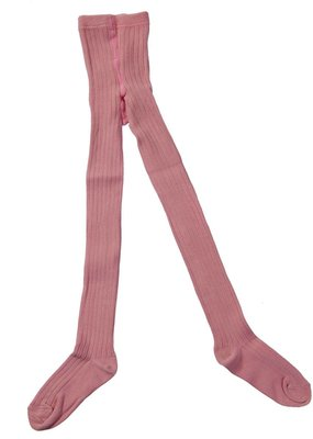 Little Hedonist LH Ribbed Tights Blush