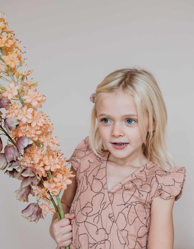 Blossom Kids Dress muslin Butterfly