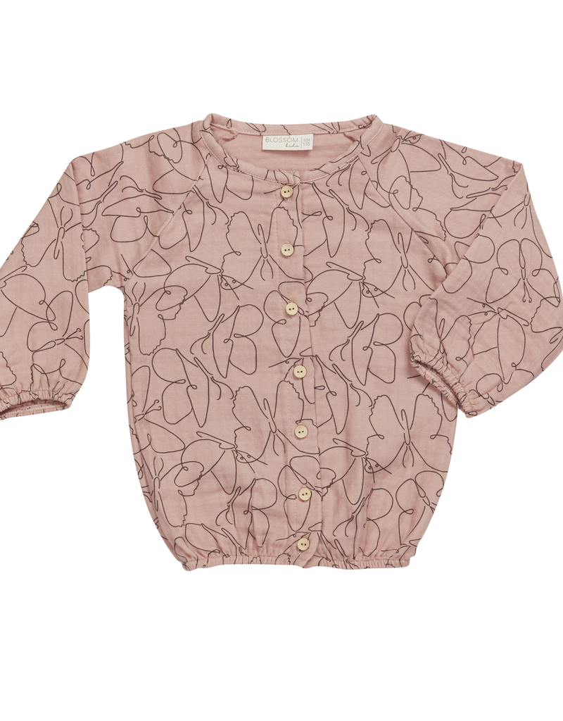 Blossom Kids Muslin blouse Butterfly