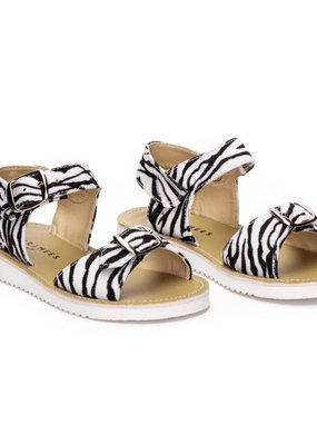 Bear & Mees Sandals Zebra
