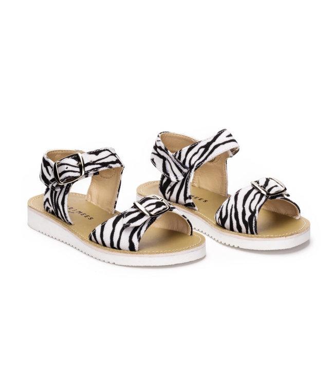 Bear & Mees Bear & Mees Sandals Zebra