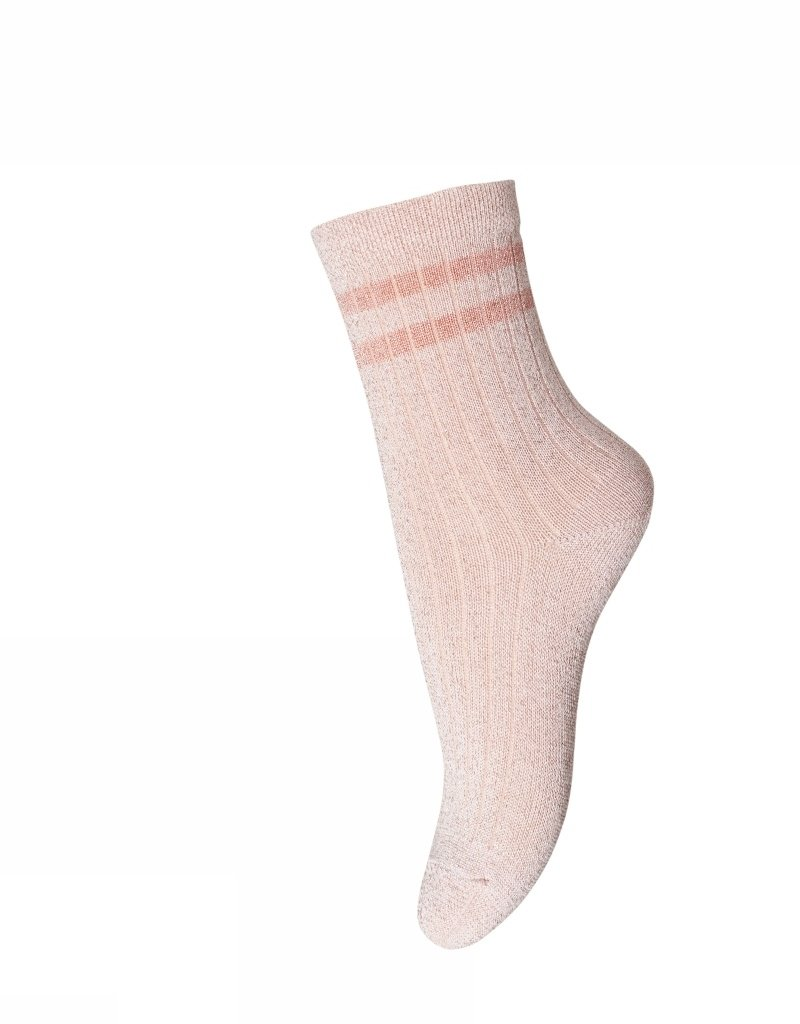 MP denmark MP Denmark sok licht roze glitter