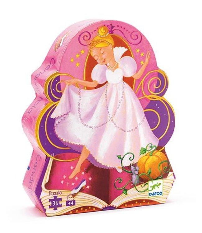 Djeco Puzzel Cinderella 36st