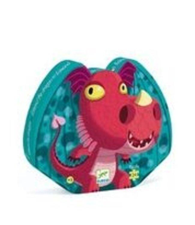 Djeco Puzzel Dragon 24st