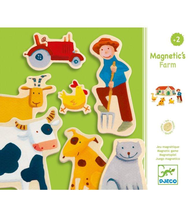 Djeco Magnetic farm