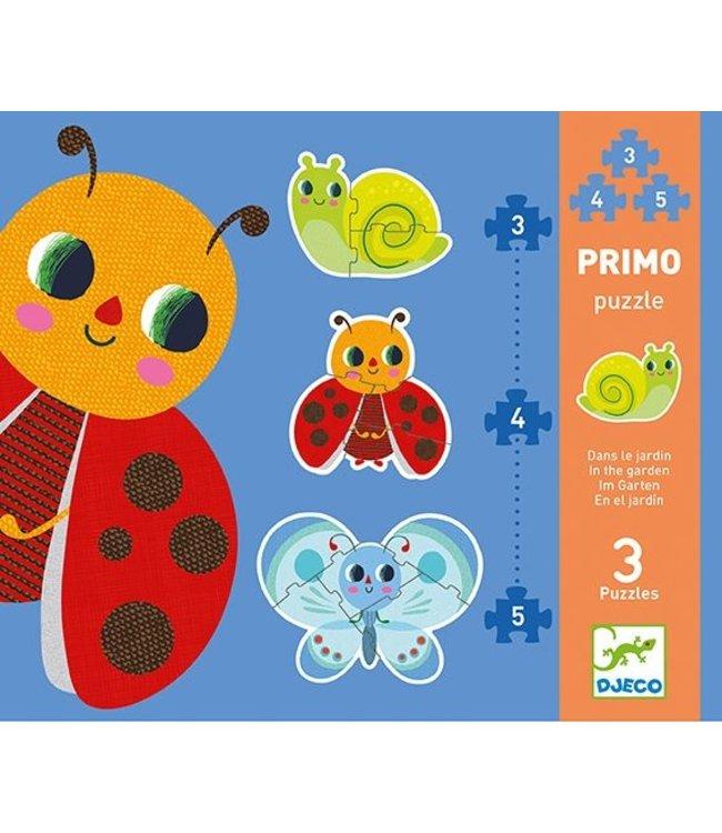Djeco Primo puzzel In de tuin