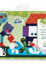 Djeco Magic colouring Tuin