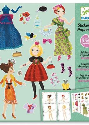 Djeco Stickers & Poppetjes Mode