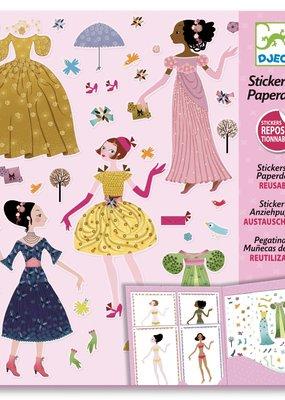 Djeco Stickers& Paperdoll dresses