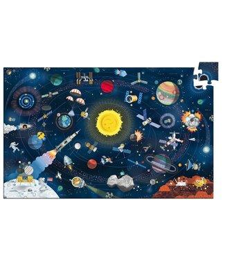 Djeco Observatiepuzzel De ruimte