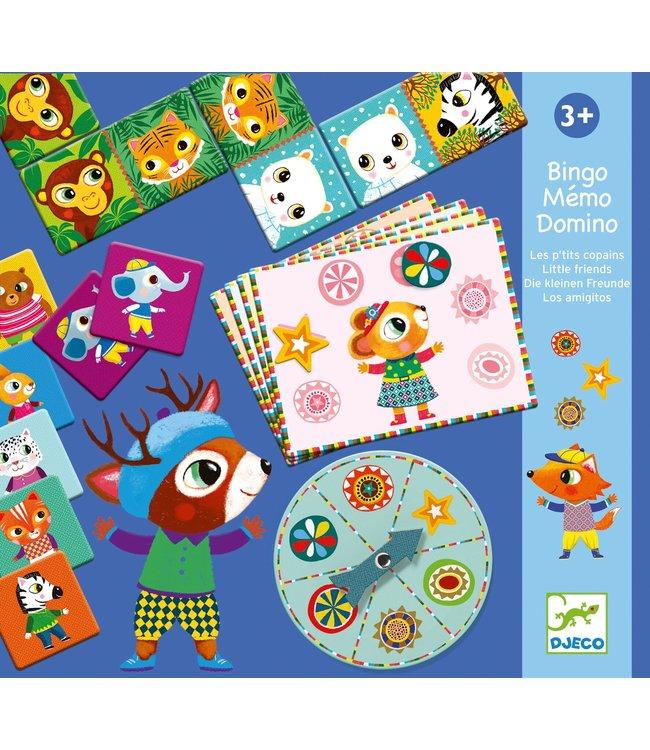 Djeco Bingo, memorie en domino
