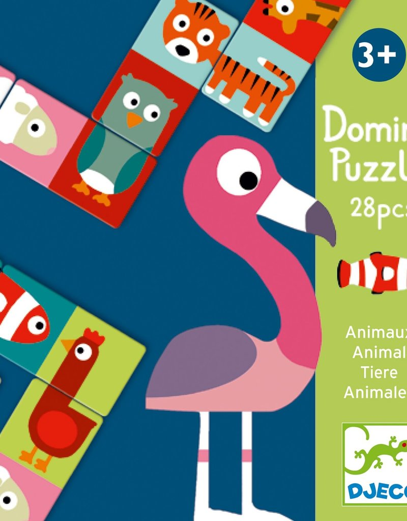 Djeco Domino puzzel Animals