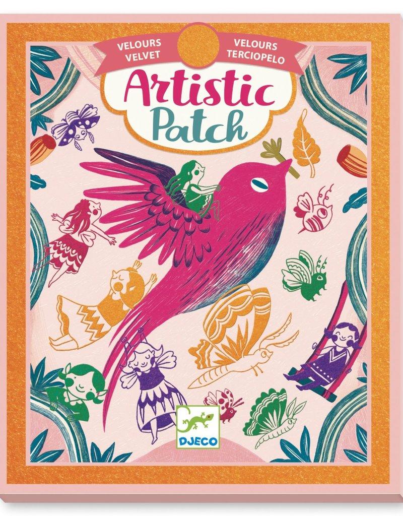 Djeco Artistic patch Een met de natuur
