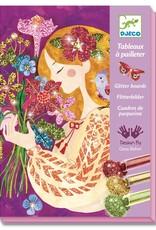Djeco Glitterschilderijen Bloemengeur