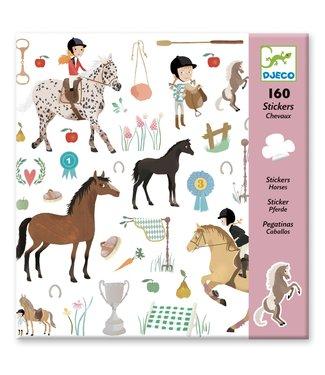 Djeco 160 Stickers Horses
