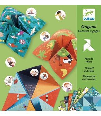 Djeco Origami Zoutvaatjes