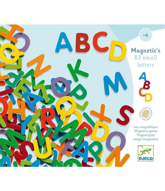 Djeco Magnetic Letters Small