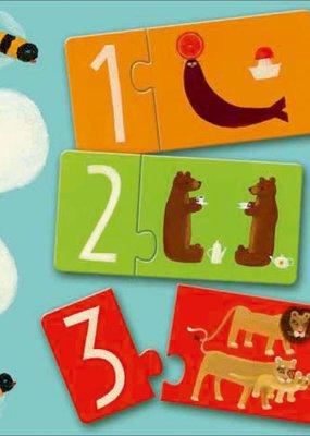 Djeco Duo Puzzel Nummers