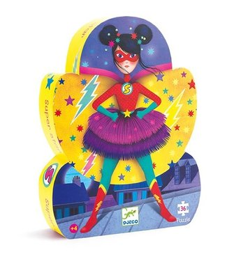 Djeco Puzzel Superstar 36st