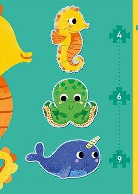 Djeco Primo puzzel In de zee