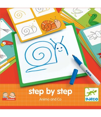 Djeco Stap voor stap, Animo