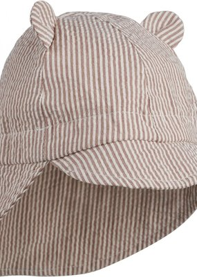 Liewood Gorm sun hat dark rose