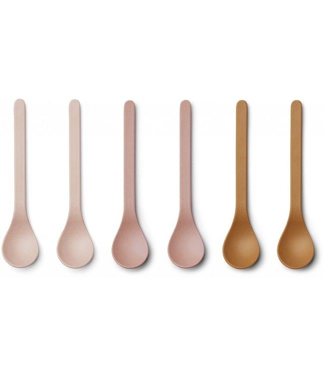 Liewood Etsu bamboos spoon Rose