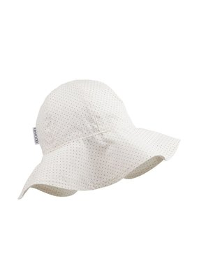 Liewood Amelia sun hat little dot creme 3-4jr
