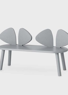 Nofred Mouse Bench Grey Oak