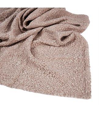 Mies & CO Subtile honeycomb blanket Blossom Powder
