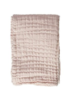 Mies & CO Soft mousseline blanket Soft Pink