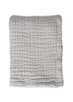 Mies & CO Soft mousseline blanket Gentle Grey