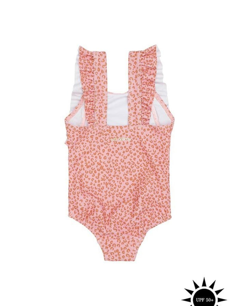 Soft Gallery Ana swimsuit Rose Leospot