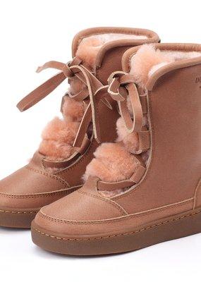 Donsje Sonny lining Hazelnut leather + Vintage Pink