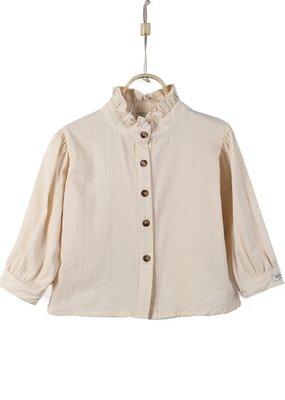 Donsje Fine blouse Cream
