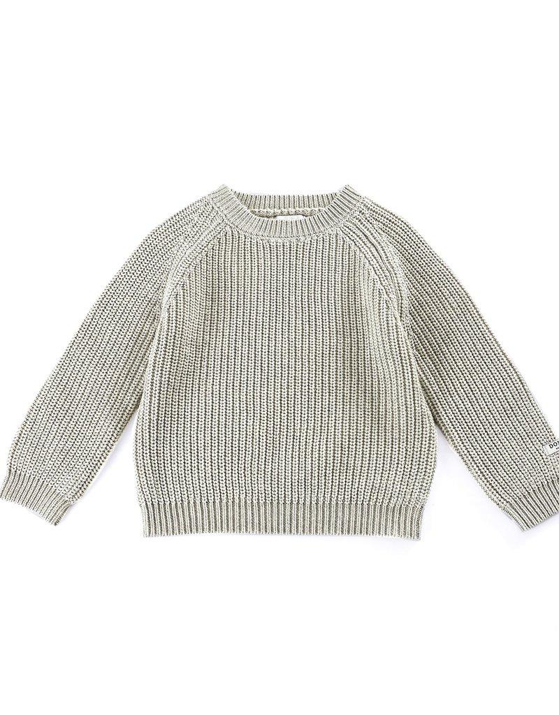 Donsje Jade sweater Soft Feather Melange