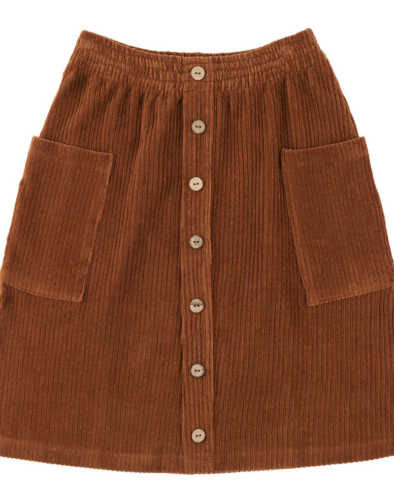 CarlijnQ CQ Basics Midi skirts with buttons and pockets