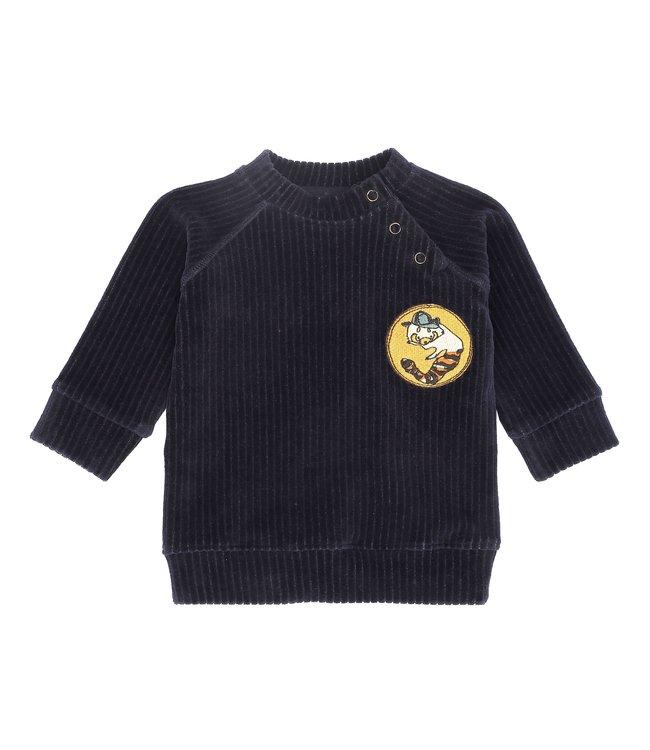 Soft Gallery Alexi sweatshirt Carbon Badger