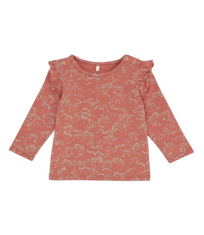 Soft Gallery Baby bella t-shirt autumn leaf flowerdust