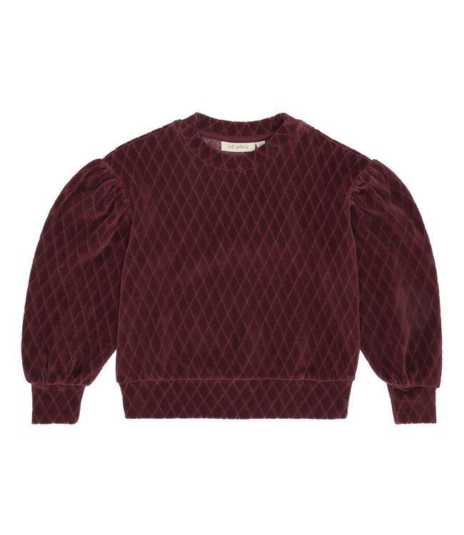 Soft Gallery Geneva sweatshirt Rose brown