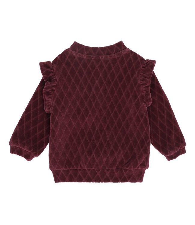 Soft Gallery Evita cardigan rose-brown