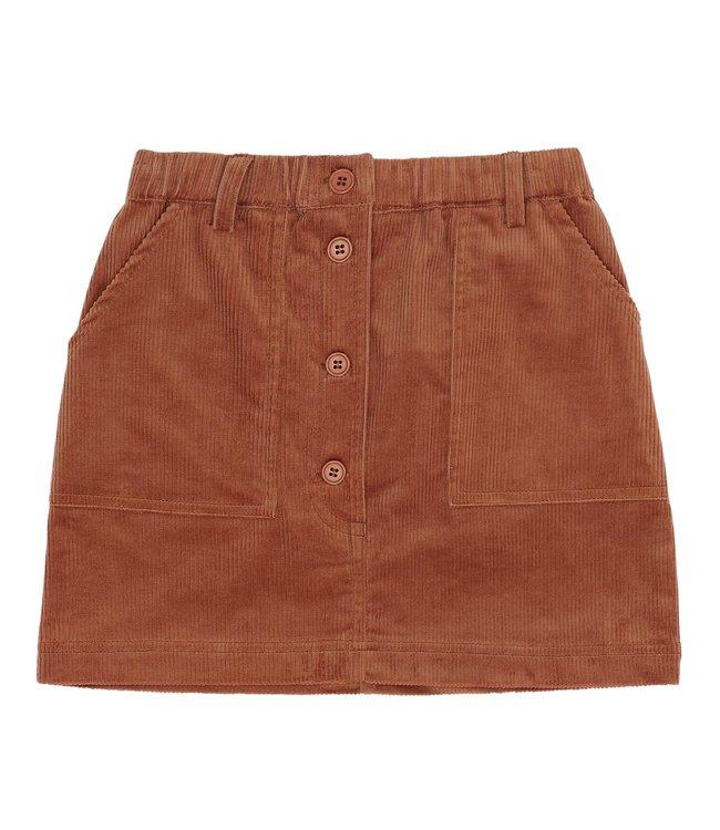 Soft Gallery Garance skirt Baked Clay