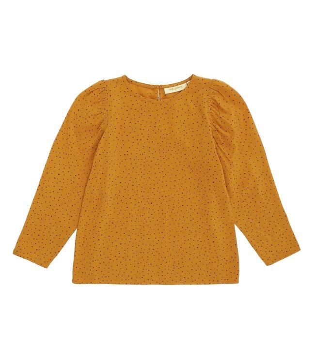 Soft Gallery Gaelle shirt Inca Gold trio dotties