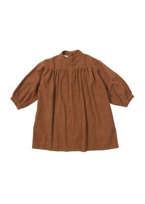 Maed for mini Caramel Coyote dress