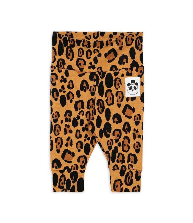 Mini Rodini Basic leopard nb legging
