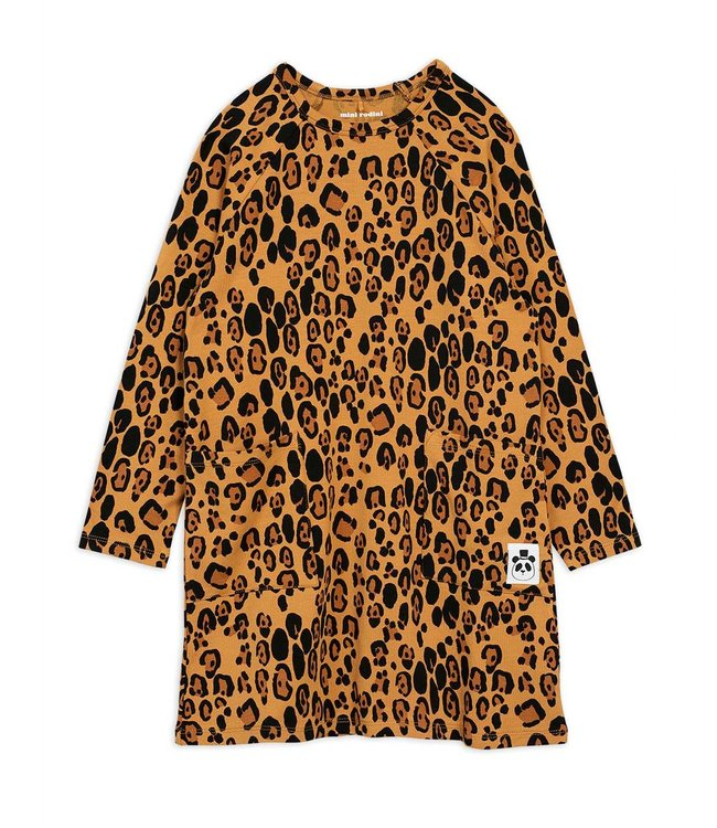 Mini Rodini Basic leopard dress
