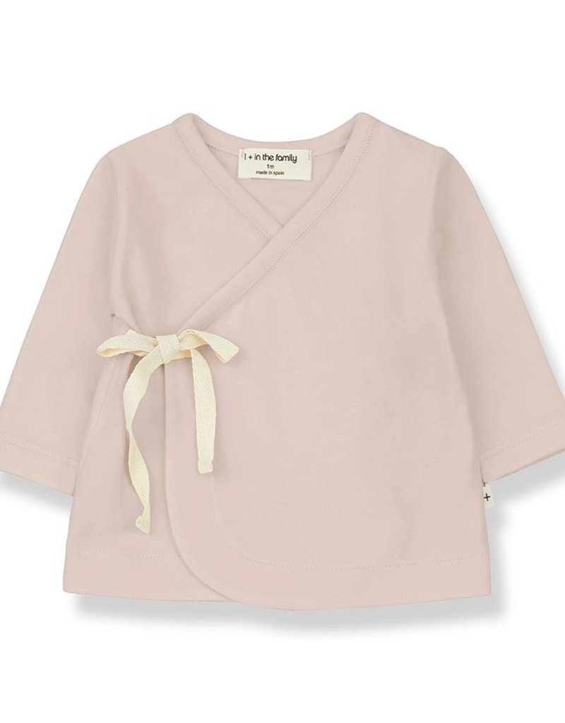 1 + in the family Babette newborn shirt nude
