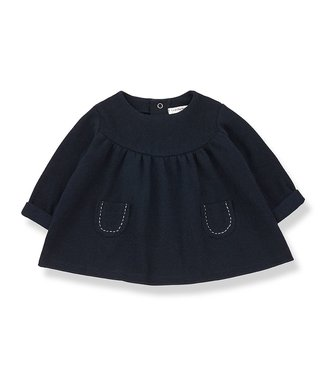 1 + in the family Mariola dress blue notte