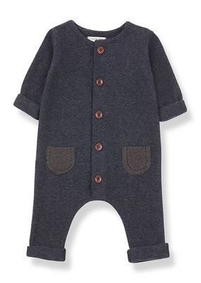 1 + in the family Montblanc jumpsuit Terrau/blue notte