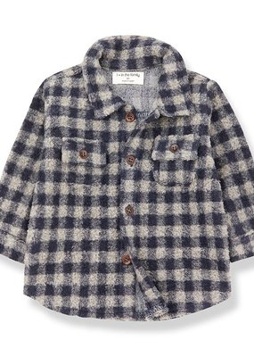 1 + in the family Pal shirt beige/blue notte